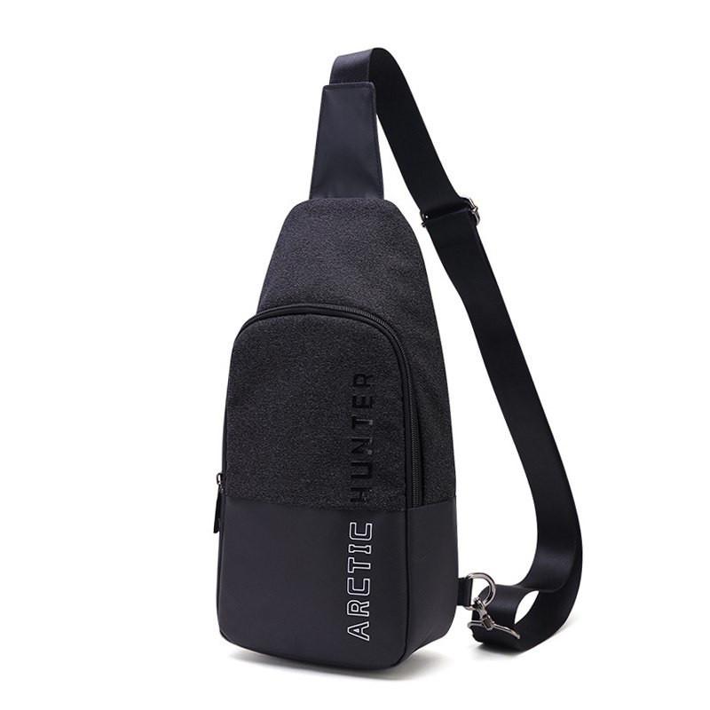 Городская сумка-рюкзак с одной лямкой через плечо из водоотталкивающей ткани Arctic Hunter XB00058, 4л