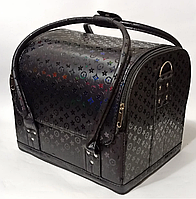 Сумка-чемодан для мастера маникюра, парикмахера и визажиста YRE-2700-2 (черный)