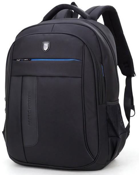 """Классический влагозащищённый рюкзак для ноутбука 15,6"""" Arctic Hunter 1500195, с отверстием для наушников, 22л"""