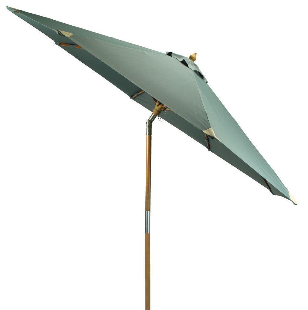 Зонт садовый диаметр 300 см зеленый (С функцией наклона и шнуром для легкой сборки)