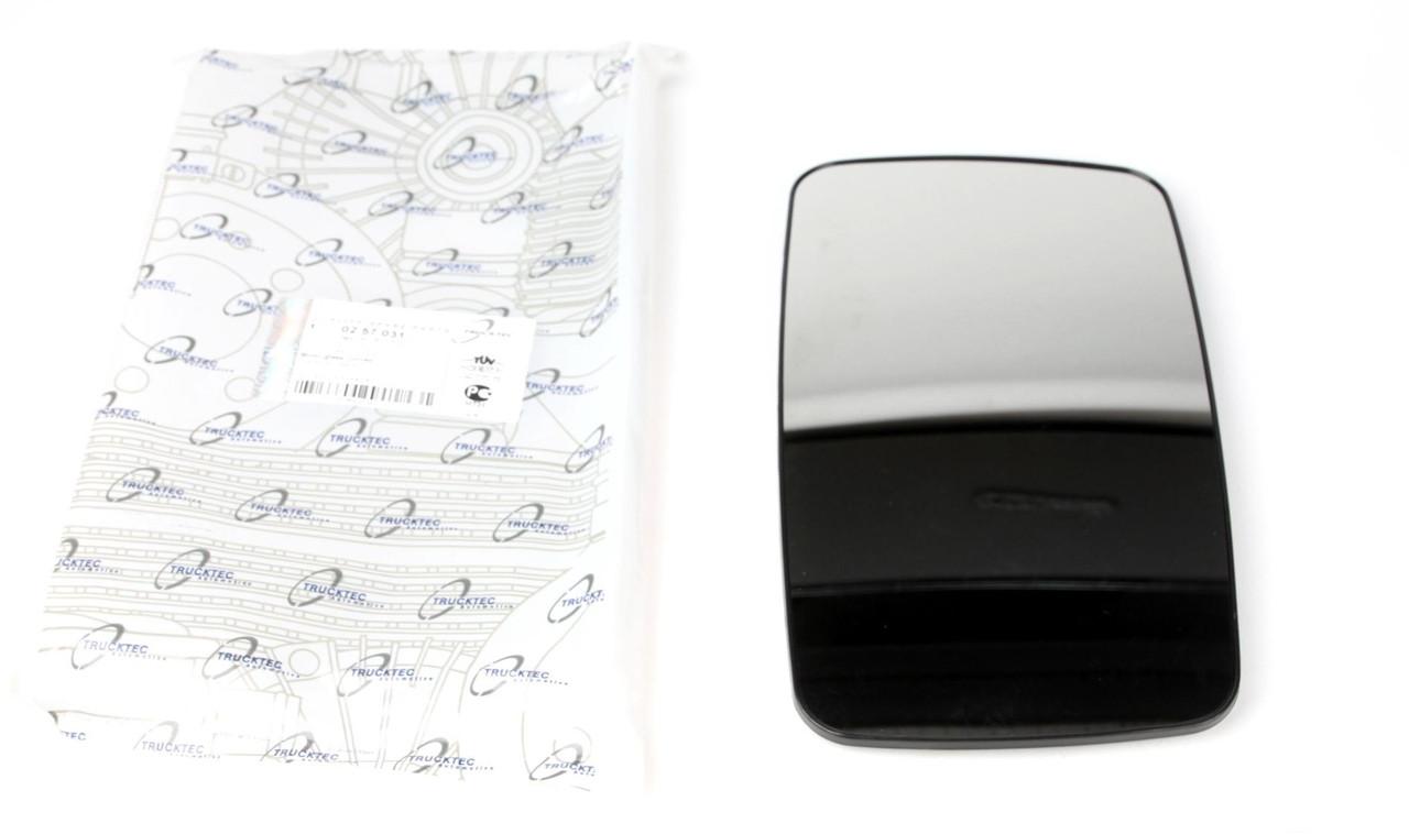 Стекло зеркала правое (без подогрева) (вставка, вкладыш) MB Sprinter/VW LT 96-06 (02.57.031) TRUCKTEC