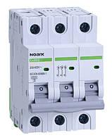 Автоматический выключатель трехполюсный Noark Ex9BS 3P C10 для защиты электрических цепей переменного тока