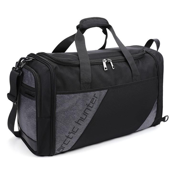 Дорожная сумка-трансформер барсетка 2в1 через плечо Arctic Hunter LX00010, влагозащищенная, 32л
