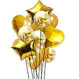 Набор на День Рождения Happy Birthday с Единорогами + Воздушные Шары + баннер для девочки, фото 5