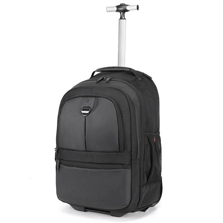 Дорожный рюкзак на колесах, чемодан Arctic Hunter L00043, 4 отделения, RFID защита и карман для ноутбука, 45л
