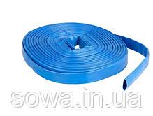 ✔️ Шланг пожарный прорезиненный ПВХ 50 м. (Синий), фото 3