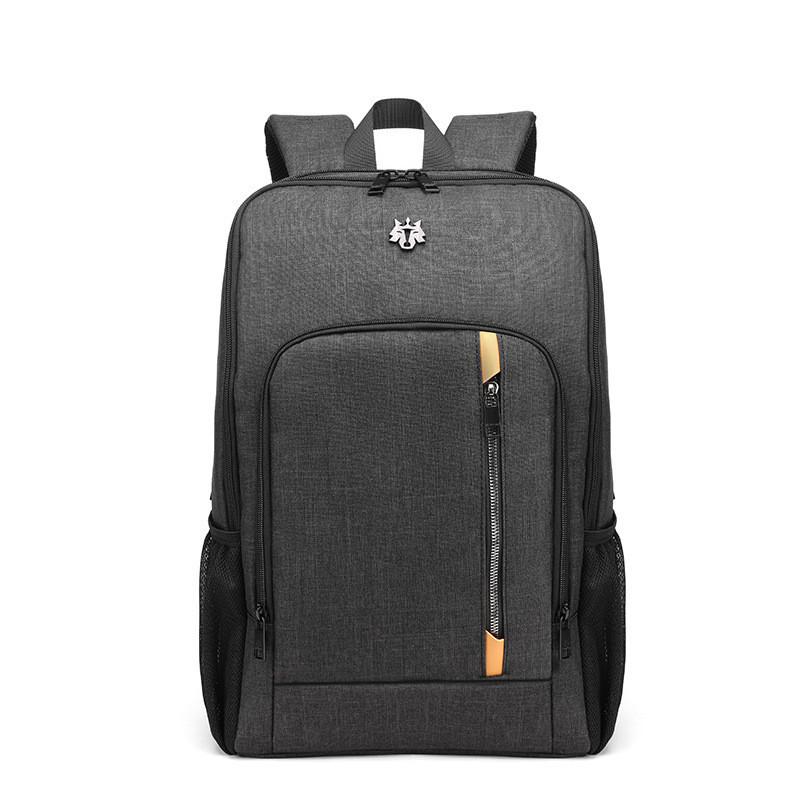 Тканевый городской рюкзак Golden Wolf GB00364 для ноутбука до 15,6, USB портом и отверстием для наушников, 25л