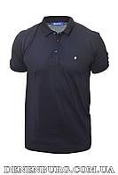 Футболка-поло чоловіча ANTONY ROSSI 20-6448B темно-синя, фото 1