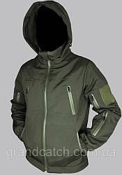 Штормова Куртка Soft shell Олива