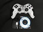 Игровой много-платформенный джойстик Wireless для PS2 PS3 PC Android TV Box (Белый), фото 2