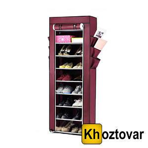 Тканинний шафа для взуття та аксесуарів Shoe Rack and Wardrobe YQF-1190