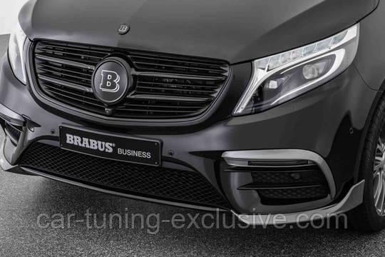 BRABUS front spoiler attachments for Mercedes V-class W447