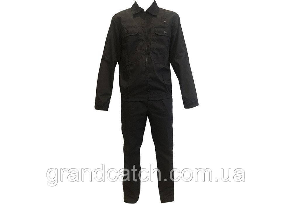 Костюм рип-стоп Полиция Черный