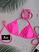 Лиф купальный ярко-розовый без чашек (чашки идут отдельной позицией) серии HOT PINK