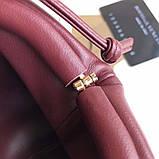 Сумка, клатч от Боттега натуральная кожа 23 см, фото 5