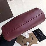Сумка, клатч от Боттега натуральная кожа 23 см, фото 6