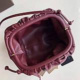 Сумка, клатч от Боттега натуральная кожа 23 см, фото 7
