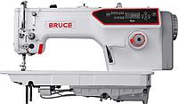 Промышленная швейная машина (безпосадочная) Bruce R6-F-H с полусухой головкой и автоматическими функциями, для средних и тяжёлых материалов