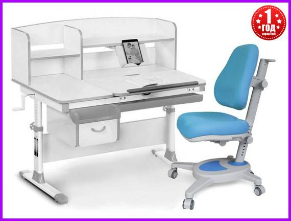 Комплект Evo-kids Evo-50 G стол+ящик+надстройка+кресло Onyx Y-110 KBL
