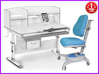Комплект Evo-kids Evo-50 G стол+ящик+надстройка+кресло Onyx Y-110 KBL, фото 1