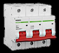 Автоматический выключатель трехполюсный Noark Ex9B125 3P C80A для защиты электрических цепей переменного тока