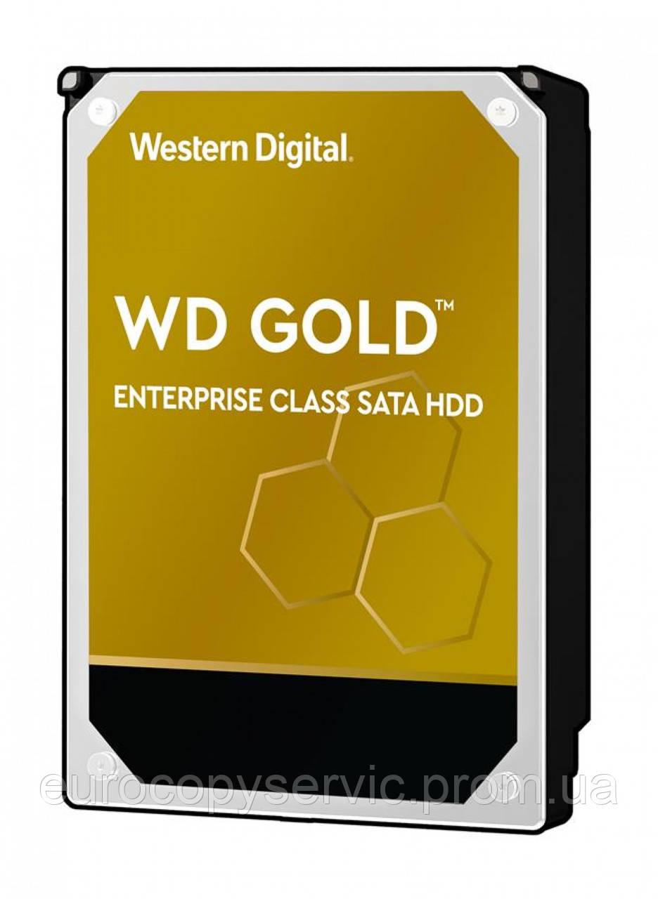"""Жосткий диск WD 3.5 """"SATA 3 8TB 7200 256MB Gold (WD8004FRYZ)"""