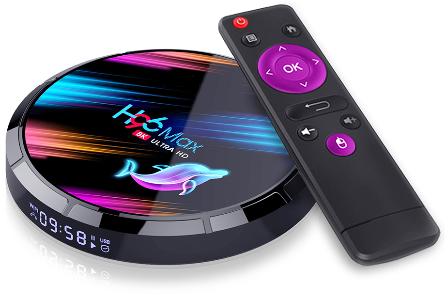 Приставка H96 Max X3   4/64 GB   Amlogic S905X3   Android TV Box