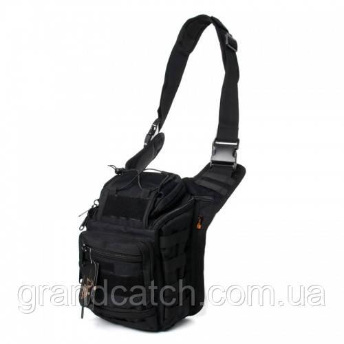 Рюкзак-сумка Silver Knight Черная RT-803