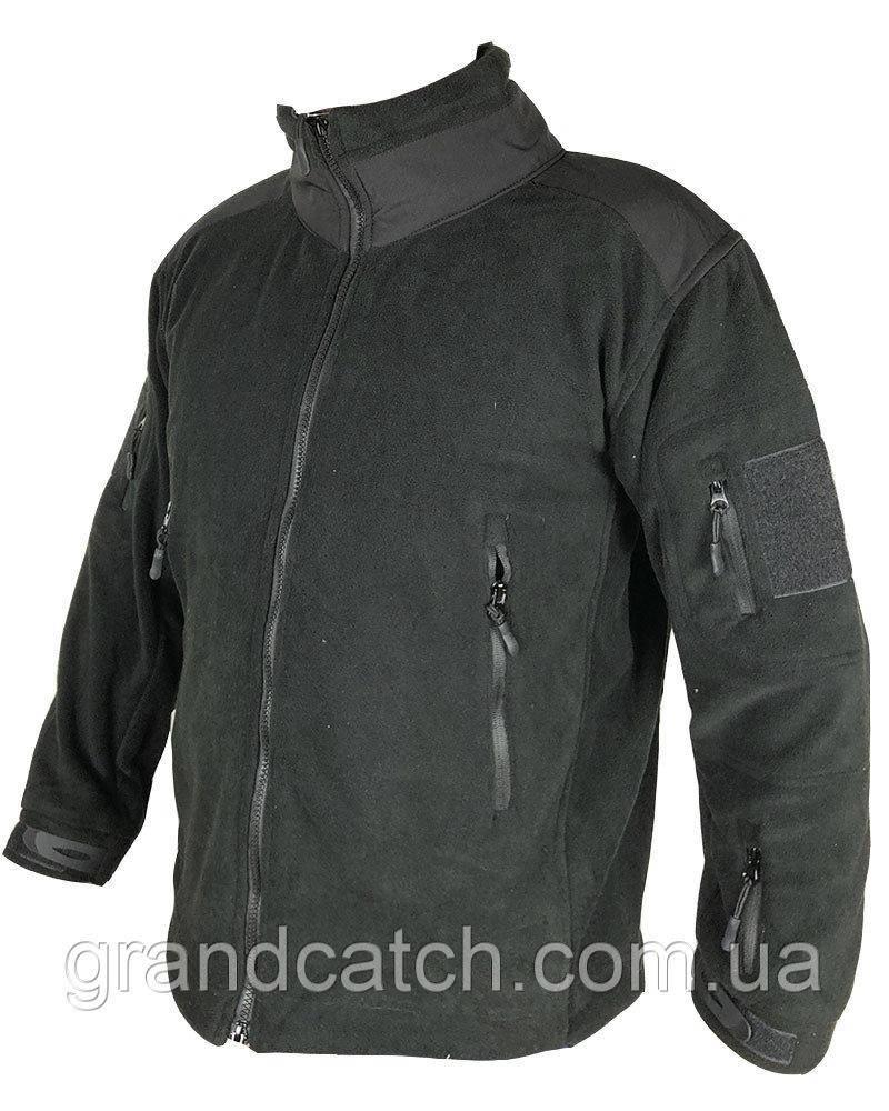 Куртка флисовая TAD GEAR черная