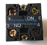 Блок контактов Dynapac (930195) пульта управления (CONTACT  BLOCK, фото 3