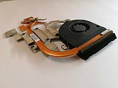 Б/У радиатор ( система охлаждения ) + кулер для ноутбука ACER Aspire 5551, 5551G, 5552, 5552G