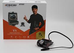Автомобильный видеорегистратор DVR V1 WIFI с двумя камерами