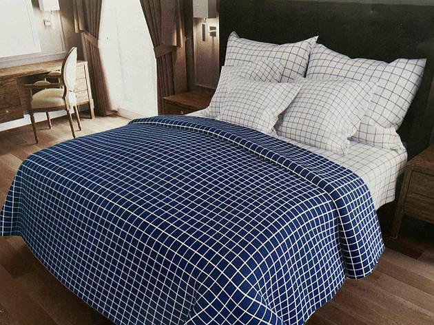 Двуспальный комплект постельного белья евро 200*220 хлопок  (13993) TM KRISPOL Украина, фото 2