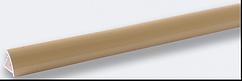 Угол наружный под плитку (7-8 мм) кремовый LRA01