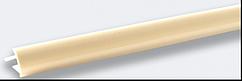 Угол наружный под плитку (7-8 мм) слоновая кость LRA02