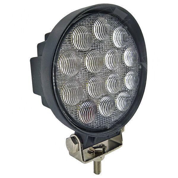 Дополнительная светодиодная фара (3D-линза) точечного (дальнего) света 42W/30 круглая 10-30V