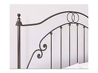 Металлическая кровать двуспальная FIRENZE / ФЛОРЕНЦИЯ Bella Letto 180х190, фото 2