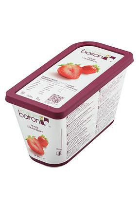 Заморожене фруктове пюре Полуниця Les vergers Boiron, фото 2