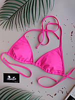 Лиф купальный женский ярко-розовый без чашек (чашки идут отдельной позицией) серии HOT PINK