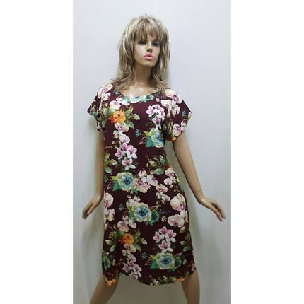 Платье летнее из ткани софт,Размеры от 48 до 60, Харьков, фото 2