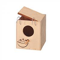 Домик-гнездо для птиц из дерева Ferplast NIDO MINI