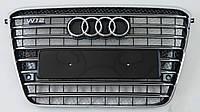 Решетка тюнинг Audi A8 D4 (10-13) стиль W12 (хром)