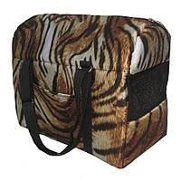 Сумка-переноска для кошек «Тигр», 40х20х30 см