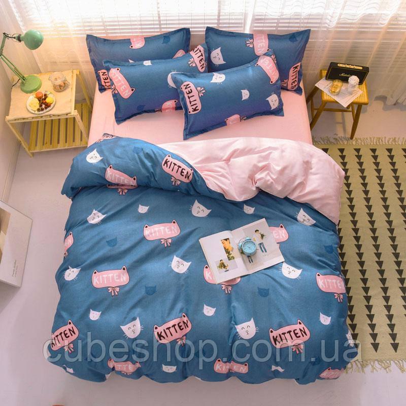 Комплект постельного белья Kitten (двуспальный-евро)