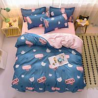Комплект постельного белья Kitten (двуспальный-евро), фото 1