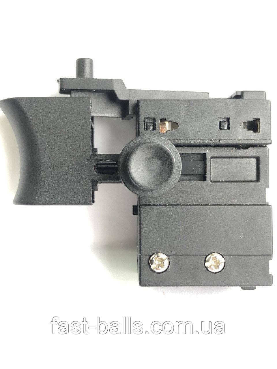Кнопка для сетевых шуруповертов с фиксатором ZLB KR9