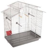 Клетка для птиц Природа Нимфа хром  70*40*76 см (не разборная)