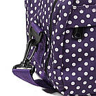 Сумка дорожная Members Essential On-Board Travel Bag 12.5 Purple Polka, фото 2