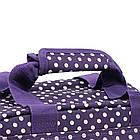 Сумка дорожная Members Essential On-Board Travel Bag 12.5 Purple Polka, фото 3