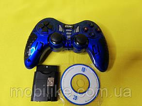 Геймерський Джойстик Wireless для PS2 PS3 PC Android TV Box (синій)